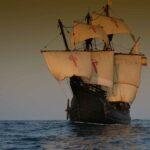 Réplica de la Nao Victoria con la que Juan Sebastián Elcano dio la primera vuelta al mundo