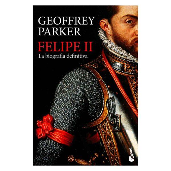 """Portada del libro """"Felipe II. La biografía definitiva"""""""