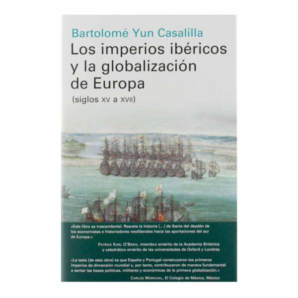 """Portada de """"Los imperios ibéricos y la globalización de Europa"""""""