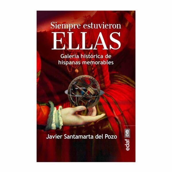 """Portada del libro """"Siempre estuvieron ellas"""", por Javier Santamarta del Pozo"""