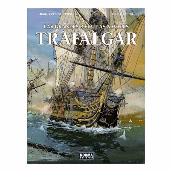Trafalgar. Las grandes batallas navales. Cómic