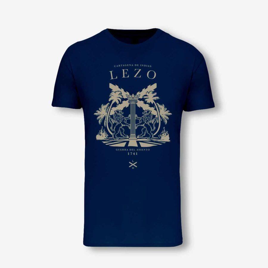Camiseta de don Blas de Lezo