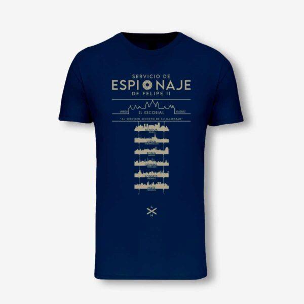 Camiseta de los espías de Felipe II