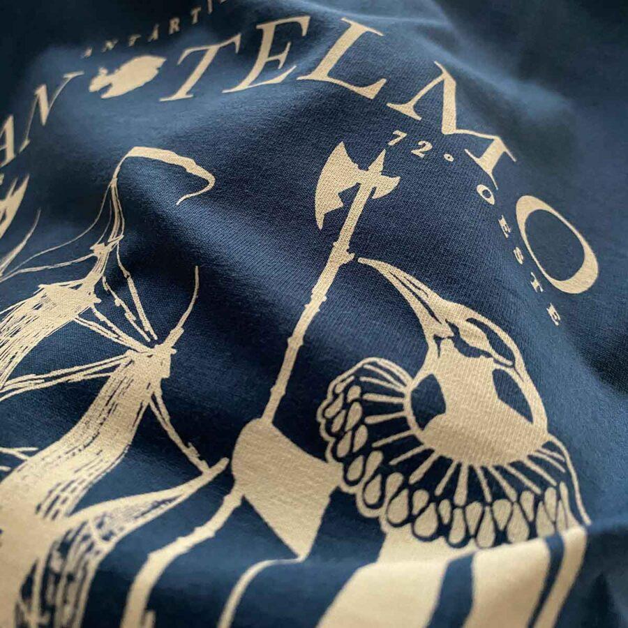 detalle de la camiseta del navío San Telmo