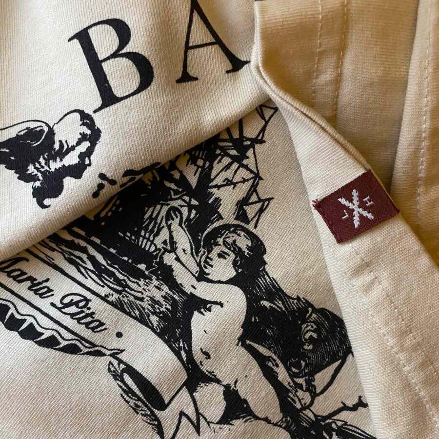 Sección de la camiseta de Balmis, de Legado Hispánico