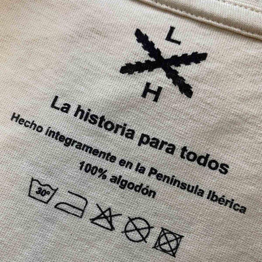Etiqueta interior de Legado Hispánico
